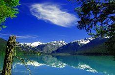 Fondo pantalla Lago Cristalino