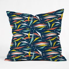Heather Dutton Swizzlestick Party Girl Throw Pillow | DENY Designs Home Accessories