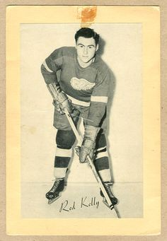 Old Bee Hive photo of Red Kelly | Detroit Red Wings | NHL | Hockey