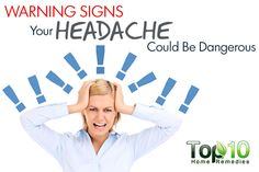 10 Warning Signs Your Headache Could Be Dangerous! Headaches are a global bane. A headache is one of the most Home Remedies For Nausea, Home Remedy For Headache, Home Remedy For Cough, Natural Headache Remedies, Home Remedies For Acne, Migraine Relief Tips, Headache Relief, Migraine Headache