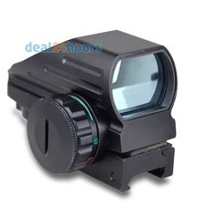 Tactical Reflex Red/Green Laser 4 Reticle Holographic Projected Dot Sight  Rail Mount 20mm