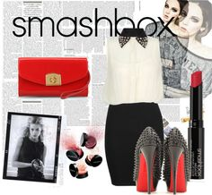 """""""love the smashboxxx"""" by the-nicky ❤ liked on Polyvore"""
