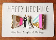 "ribbon wedding invitation ""and paper"""