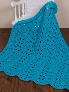 Seaspray baby blanket [crochet in 10 hours] - nice pattern