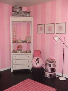 Pink Pink Paris Bedroom, Pink Bedroom For Girls, Little Girl Rooms, Pink  Bedrooms