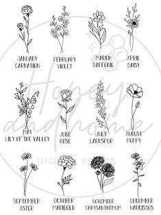 42 Tattoo, Dainty Tattoos, Sister Tattoos, Mini Tattoos, Piercing Tattoo, Small Tattoos, Small Flower Tattoos For Women, Feminine Tattoos, Flower Bouquet Tattoo