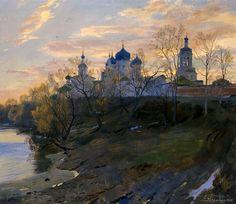 Дмитрий Белюкин.Боголюбово.Весна.2008. +++ DmitryAnatolievichBelyukin. Spring in Bogolyubovo. 2008