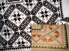 Needful Things, Blackwork, Elsa, Cross Stitch, Quilts, Embroidery, Blanket, Pattern, Folklore