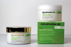 Goldfaden's advanced doctor's scrub. Not keen on physical scrubs, but could be fun.... #exfoliation