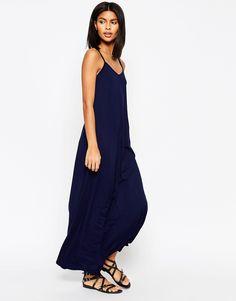 Image 1 ofASOS Strappy Maxi Dress