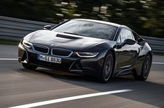 For those who want to be both stylish and energy-efficient, here is the BMW i8 plug-in hybrid.