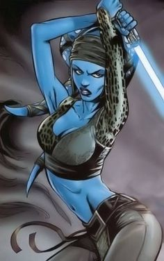 Aayla Secura was a Twi'lek Jedi Knight in the last days of the Galactic Republic. As a Jedi, she was also a General in the Clone Wars.