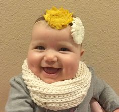 """These bib/scarves (also called a """"scib"""" by my son!) are made with 100% cotton to keep them absorbing the drool and easily washable. They have a unique crochet stitch style that gives it both thickness and flexibility and I used a bobble stitch rather than a button to minimize the choking hazard. Although a little wooden button would be super cute!"""