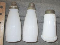 salt shakers    from around 1900  very usable..