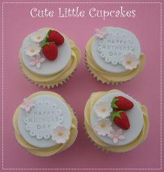 Cute Little Cupcakes Teacher Cupcakes, Fathers Day Cupcakes, Kid Cupcakes, Mothers Day Cake, Yummy Cupcakes, Fondant Cupcake Toppers, Cupcake Cakes, Cupcake Ideas, Mini Cakes