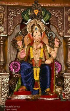 Jai Ganesh, Ganesh Lord, Ganesh Idol, Shree Ganesh, Ganesha Art, Ganesh Images, Ganesha Pictures, Ganesh Chaturthi Photos, Bal Hanuman