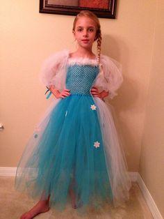 Elsa Inspired Tutu Dress Snow Queen Of New Movie Frozen Little Girl Dresses, Girls Dresses, Olaf Halloween Costume, Fancy Dress, Dress Up, Elsa Birthday Party, Princess Tutu Dresses, Tutu Costumes, Fairy Costumes