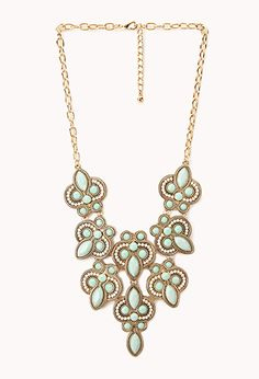 Heirloom Faux Stone Necklace | FOREVER21 - 1000125817