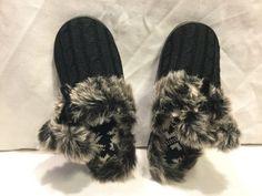 4907ce0e0 Memory Form Womens Room Slippers With Pom Pom Black Size M #fashion  #clothing #