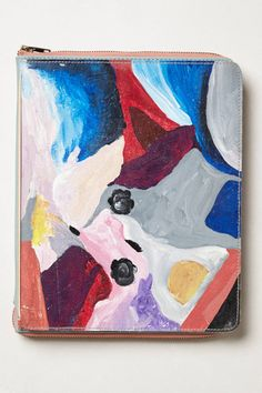 Handpainted Abstract Journal - anthropologie.com