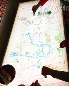 Sensory Play, Light Table, King, Shower, Instagram, Art, Rain Shower Heads, Lightbox, Kunst