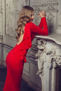 Women In Red  #summer #style #dress #fashion #wedding #street