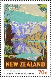 New Zealand (lake and mountains)