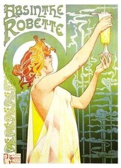 Poster by Alphonse Mucha.