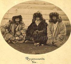 Kazakh men from West Kazakhstan,Bozashi area