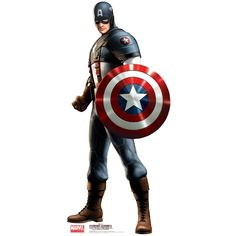 Captain America Life Size Cutout. He would love it!