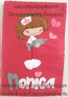 Las cositas de Pepita: Fieltro y Pediatras, que buena combinación!!!