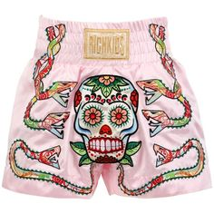 Muay Thai shorts - Healty fitness home cleaning Muay Thai Shorts, Thai Boxing Shorts, Boxing Girl, Women Boxing, Boxing Outfit For Women, Boxing Outfits, Boxing Boxing, Short Muay Thai, Mma