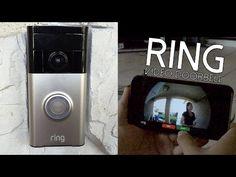 Ring Video Doorbell.Δείτε ποιος είναι στην πόρτα σας με video streaming από το κινητό σας. . |