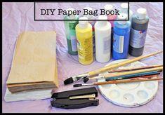 DIY Paper Bag Story Book