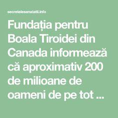 Fundația pentru Boala Tiroidei din Canada informează că aproximativ 200 de milioane de oameni de pe tot globul pământesc au careva afecțiuni ale glandei tiroide. Există o serie de tratamente pentru astfel de afecțiuni și din acest motiv am hotărât să-ți prezentam o rețetă spectaculoasă! În rețetă vei găsi un ingredient miraculos, și anume ghimbirul. Acesta este o plantă medicament, care aduce o serie de beneficii pentru organismul tău. Ghimbirul este un ajutor perfect în slăbire, dar cel mai…