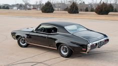 1972 Buick GS Stage 1 | F179 | Indy 2018 Skylark, Rear Ended, Triple Black, Bucket Seats, Buick, Chevrolet, Indie, Auction, Vehicles