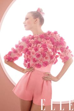 Pretty in pink (blooms). See Taylor Swift, March's covergirl