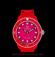 #ColourLovers#smoothiewatch#RedCherry#contrast#fashionitem#dailylook#패션스타그램#패셔니스타#멋스타그램#패션아이템#smoothiewatch_kr#아이눈부셩~~~~#schwarz#Rot#MussHabenItem#Klick#스무디워치#스무디워치코레아#www.smoothiewatchkorea.com#