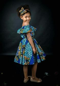 27f75469f13 Check Out The Cutest Ankara Dress For Our 2018 Kids - WearitAfrica. Meenah  Shapes n sizes · Africa baby style
