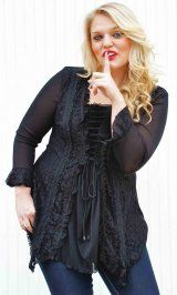 Plus Size ladies clothing boutique with vintage fashion