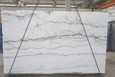 A beautiful slab of Opus White Quartzite - available right here at Boston Granite Exchange! White Quartzite Countertops, Kitchen Countertops, Granite, Next At Home, Hearth, Boston, Home Improvement, Kitchen Ideas, Outdoor