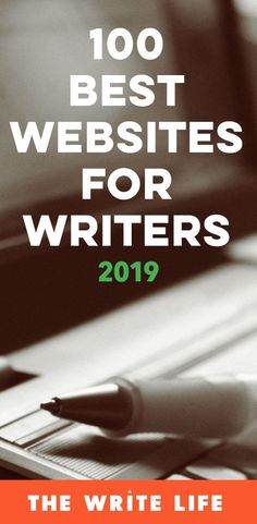 Best Writing Websites: 2019 Edition It's here! Did your favorite site make The Write Life's list of best writing websites? Did your favorite site make The Write Life's list of best writing websites? Creative Writing Tips, Book Writing Tips, Writing Quotes, Writing Help, Writing Skills, Writing Prompts, Writing Guide, Writing Journals, Writing Lists