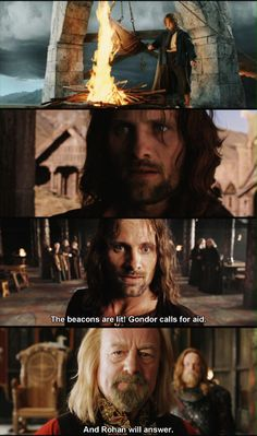 """""""Muster the Rohirrim."""" <--- I love to say this in every day conversation. Especially at inappropriate times."""
