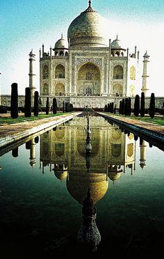 Taj Mahal   India - Inspired the #meghnadesigns Taj Mahal Collection.