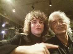 Jimmy Page and fan