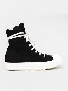 Sneaker in black by Rick Owens DRKSHDW