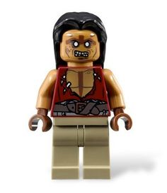 Yeoman Zombie - Lego Pirates of the Caribbean Minifigure