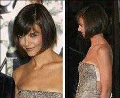 Katie Holmes Bob Haircut Style