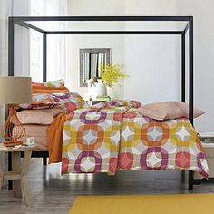What about this as jumping off point for room? Moderne Comforter