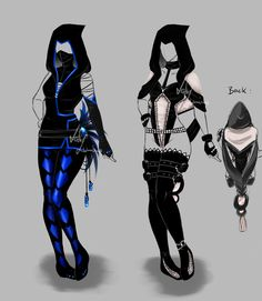 ✧ #characterconcepts ✧ Outfit design - 128 -129 - open by LotusLumino